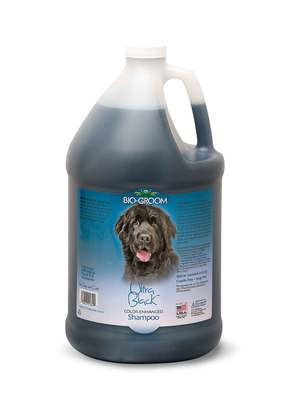 Bio-Groom Ultra Black Shampoo шампунь-ополаскиватель для собак темного окраса (фото, вид 1)
