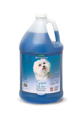 Bio-Groom Super White Shampoo шампунь для собак белого и светлых окрасов (фото, вид 1)