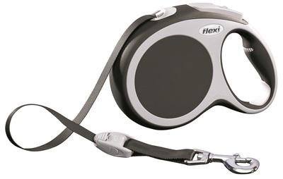 Flexi Vario L, рулетка 5 м для собак весом до 60 кг, лента (фото, вид 1)