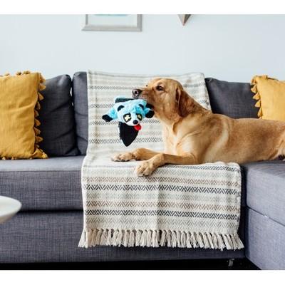Pet Stages ОН игрушка-шкурка для собак Roadkillz Енот 50 см голубой (фото, вид 1)