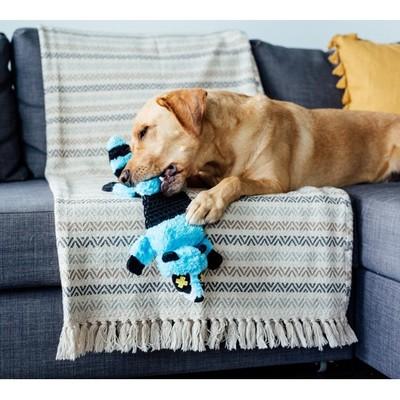 Pet Stages ОН игрушка-шкурка для собак Roadkillz Енот 50 см голубой (фото, вид 2)
