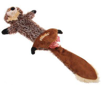 Gigwi Волк с пищалками СВЕРХПРОЧНАЯ игрушка, 37 см (фото, вид 1)