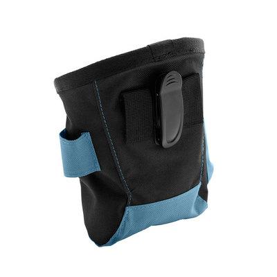 Hunter Сумочка для лакомства Bugrino Standard, большая с карманом, синяя (фото, вид 1)
