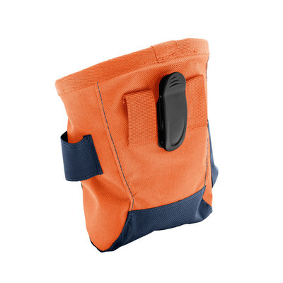 Hunter Сумочка для лакомства Bugrino Standard, большая с карманом, темно-синяя (фото, вид 1)