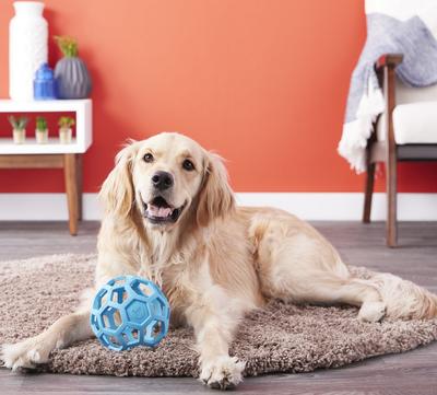 J.W. Hol-ee Roller игрушка для собак Мяч сетчатый, каучук (фото, вид 2)
