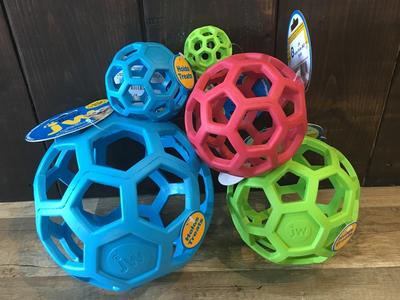 J.W. Hol-ee Roller игрушка для собак Мяч сетчатый, каучук (фото, вид 1)