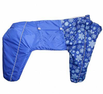 Osso зимний комбинезон для собак на синтепоне, для сук (разные цвета) (фото, вид 4)