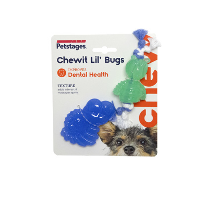 "PetStages игрушка для собак Mini ""ОРКА жуки"" 15 см, пара (фото, вид 1)"