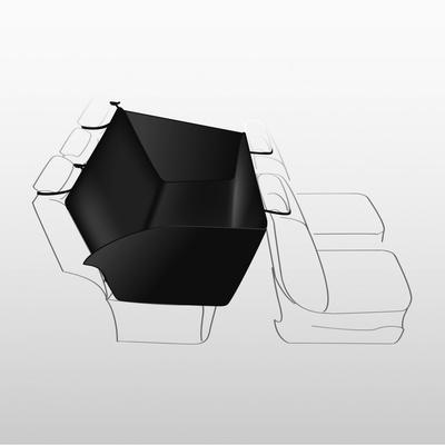 Trixie чехол-гамак на молнии для перевозки собак в автомобиле, с защитой дверей 135*150 см (фото, вид 1)