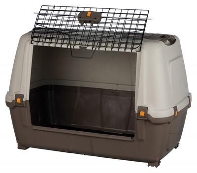Trixie Skudo Car Транспортный пластиковый бокс для перевозки собак в автомобиле (фото, вид 1)