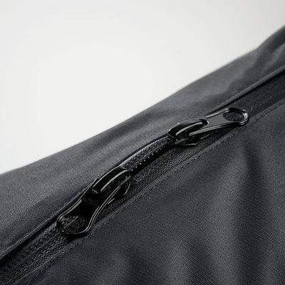 Hunter утепленная куртка для собак Uppsala Cozy, цвет антрацит/бирюзовый (фото, вид 4)