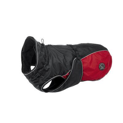 Hunter утепленная куртка со съемной флисовой подкладкой для собак Uppsala Allrounder, цвет антрацит/красный (фото, вид 3)