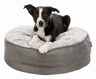 Trixie высокий лежак Bolle, цвет серый (фото, вид 1)