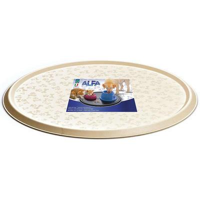 GEORPLAST ALFA коврик для миски круглый, 32,5см (фото, вид 1)