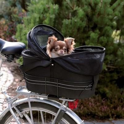 Trixie Сумка-переноска для велоперевозок, для собак до 6 кг, 29*42*48 см (фото, вид 1)