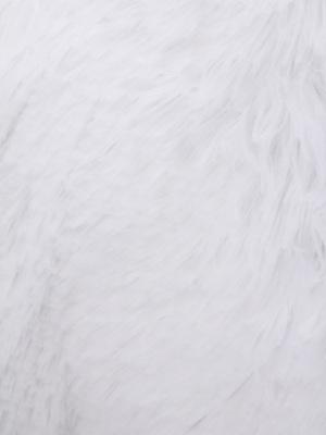 PerseiLine Лежанка ВИНЧИ МЯГКАЯ КРУГЛАЯ ПУХЛАЯ, цвет белый (фото, вид 3)