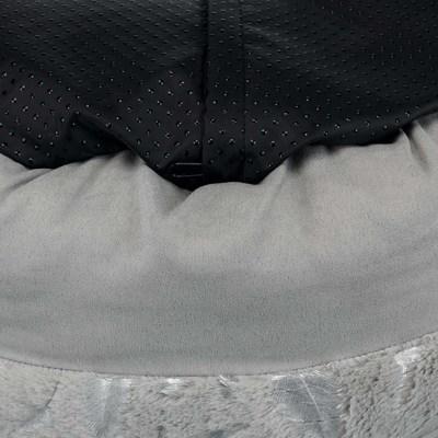 Trixie Лежак с бортиком Feather для мелких пород собак и кошек (фото, вид 1)