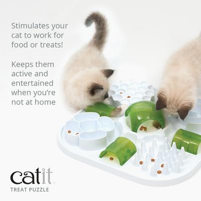 Hagen Catit Play Treat Puzzle интерактивный лабиринт для лакомства (фото, вид 1)