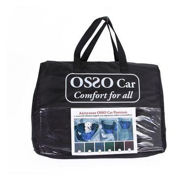 OSSO Car Premium 3 в 1 Автогамак с защитой обивки дверей, для перевозки собак, цвет темно-серый (фото, вид 3)