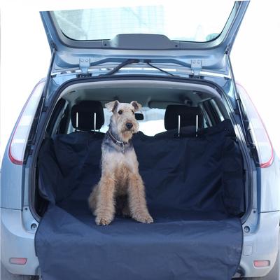 OSSO Car Premium 3 в 1 Автогамак с защитой обивки дверей, для перевозки собак, цвет темно-серый (фото, вид 4)