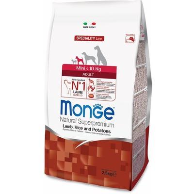 Monge Dog Speciality Mini корм для взрослых собак мелких пород ягненок с рисом и картофелем (фото, вид 13)
