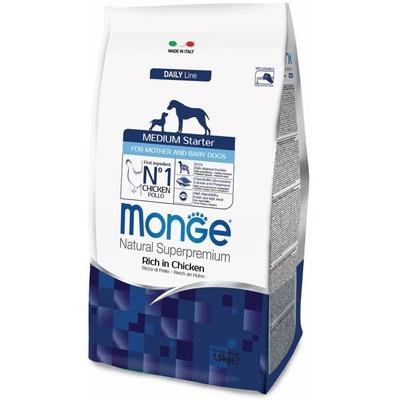 Monge Dog Medium Starter корм для щенков средних пород 1,5 кг (фото, вид 1)