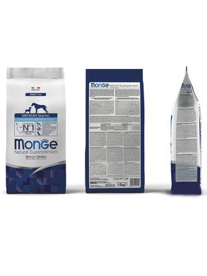 Monge Dog Medium Starter корм для щенков средних пород 1,5 кг (фото, вид 5)