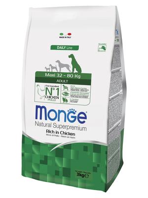 Monge Dog Maxi корм для взрослых собак крупных пород (фото, вид 2)