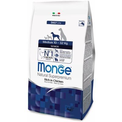 Monge Dog Medium корм для пожилых собак средних пород (фото, вид 1)