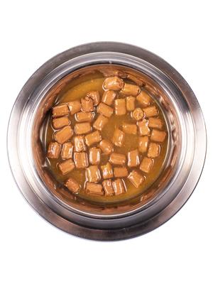 Monge Dog Grill Pouch для собак говядина 100 г (фото, вид 4)