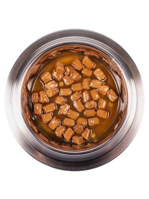Monge Dog Grill Pouch для собак ягненок с овощами 100 г (фото, вид 3)