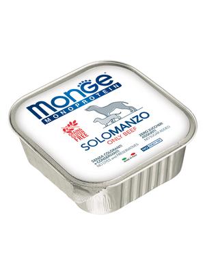 Monge Dog Monoproteino Solo паштет из говядины 150 г (фото, вид 2)