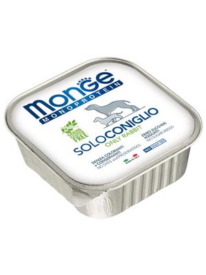 Monge Dog Monoproteino Solo паштет из кролика 150 г (фото, вид 2)