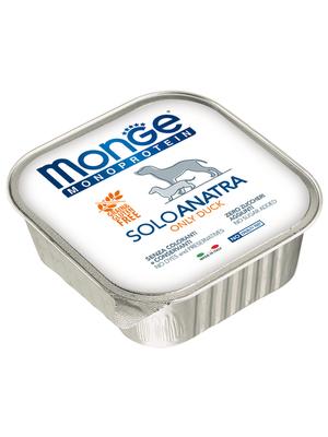 Monge Dog Monoproteino Solo паштет из утки 150 г (фото, вид 2)