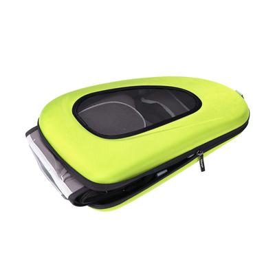 Ibiyaya многофункциональная сумка-тележка, лайм (Ибияйя) EVA Pet Carrier/ Pet Wheeled Carrier – Green (фото, вид 3)