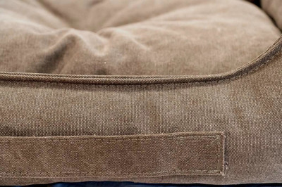 Pride Антивандальный матрас КЭМЕЛ, суперплотная ткань, цвет темно-серый (фото, вид 1)