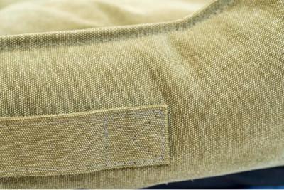 Pride Антивандальный лежак КЭМЕЛ, суперплотная ткань, цвет оливковый (фото, вид 1)