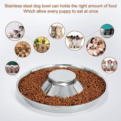 Show Tech миска-сомбреро для щенков, диаметр 37 см. (фото, вид 1)