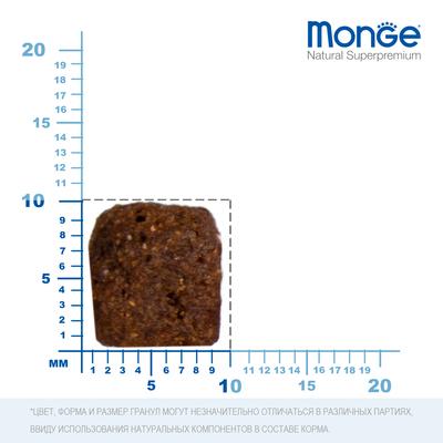 Monge Dog Speciality корм для собак всех пород утка с рисом и картофелем (фото, вид 7)