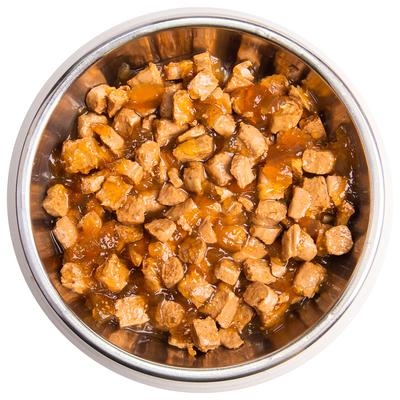 Monge Cat Grill Pouch паучи кусочки в желе из итальянского кролика для взрослых кошек 85г (фото, вид 3)