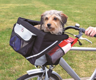 Trixie Сумка-переноска на велосипед, для собак до 6 кг, 38*25*25 см (фото)