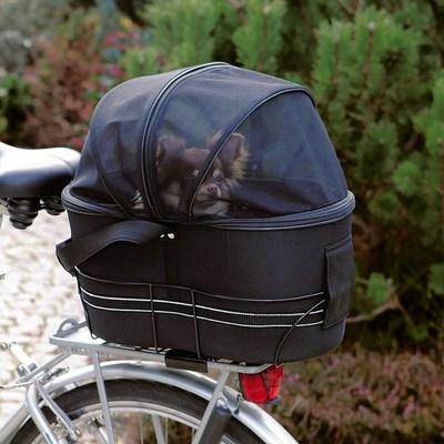 Trixie Сумка-переноска для велоперевозок, для собак до 6 кг, 29*42*48 см (фото)