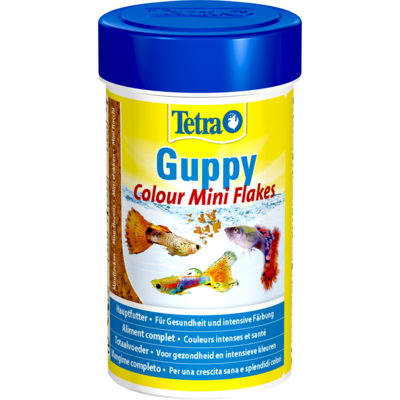 TetraGuppy Colour корм для гуппи для улучшения окраса (фото)