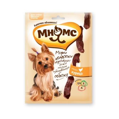 Мнямс Мини-колбаски для собак мелких пород, 75 гр.