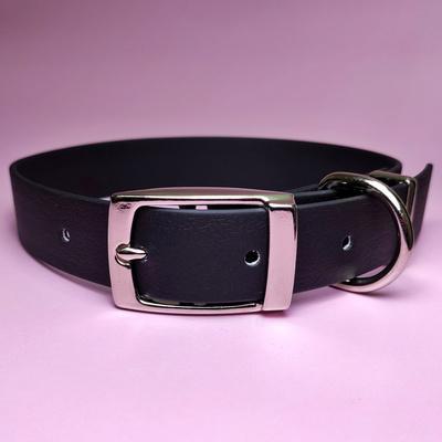 R-Dog Ошейник из биотана, металлическая пряжка, цвет черный (фото)