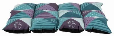 Trixie Подстилка Patchwork, петроль/фиолетовый