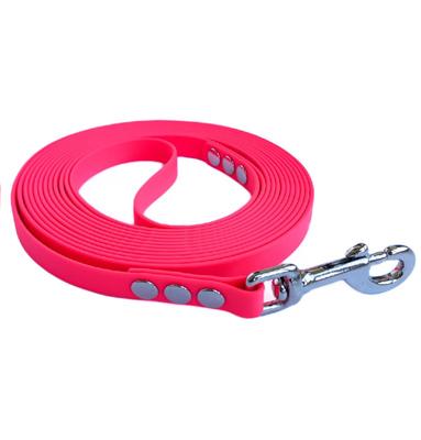 R-Dog Поводок из биотана, усиленный стальной карабин, цвет светло-розовый