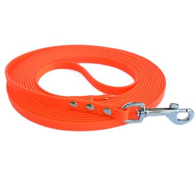 R-Dog Поводок из биотана, для мелких пород, цвет оранжевый неон