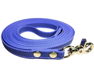 R-Dog прорезиненный нейлоновый поводок (с латексной нитью), стальной карабин клещи, цвет светло-фиолетовый
