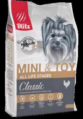 Blitz для взрослых собак мелких и миниатюрных пород (фото)